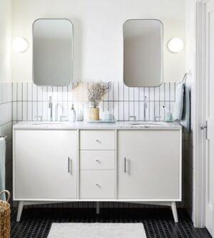 Idea Maximizing Minimalist Bathrooms Without Medicine Cabinets min