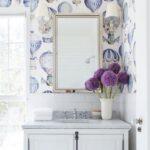 Simple Tricks To Use Bathroom Wallpaper