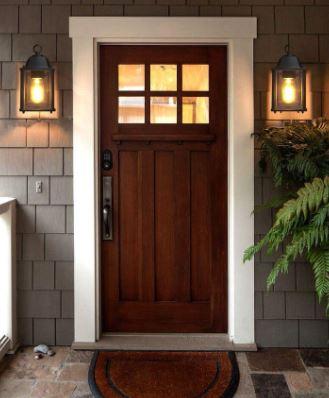 Simple Front Door Design Ideas