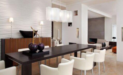 Main Key Minimalist Dining Room Decoration
