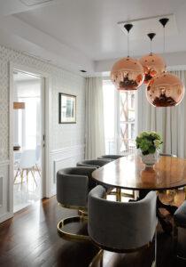 Indoor Lighting Design Ideas With Copper