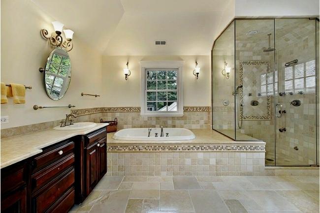 Collor Palete For Mediterranean Bathroom