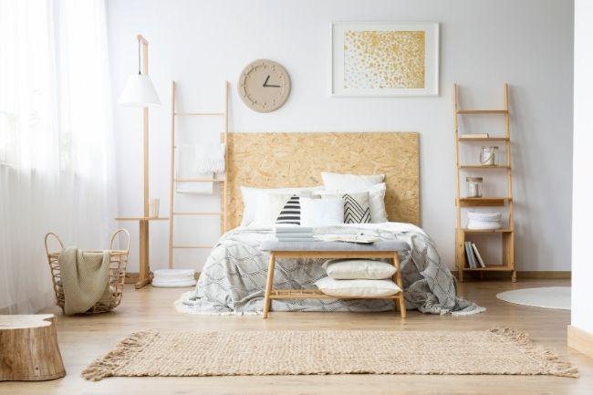 Natural Lighting For Design Boho Bedroom