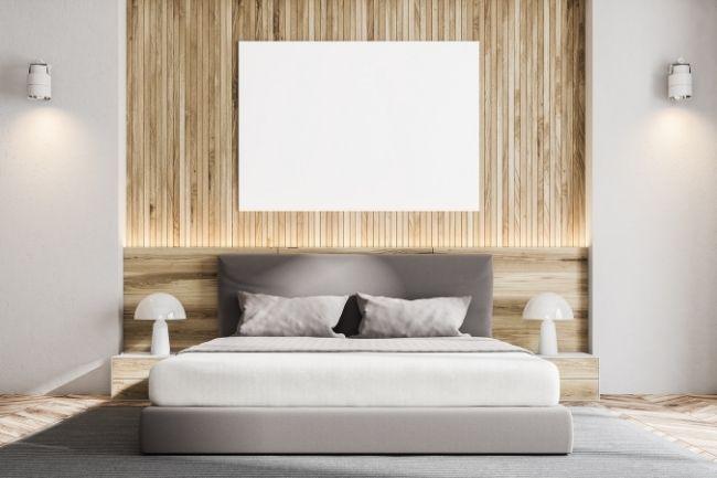 Naturan Wood For Scandinavian Bedroom