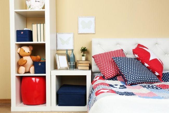 Shabby Chic Bedroom Designs Storage