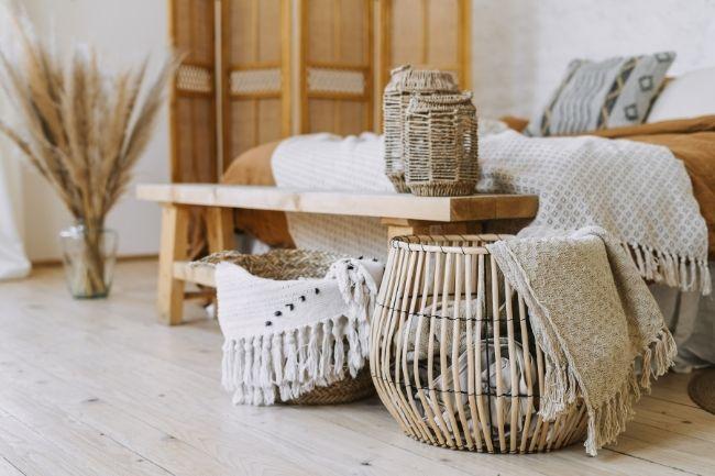 Textile For Bohemian Bedroom Design